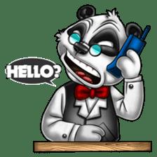 Introducing Boss Panda (Revised) sticker #11763786
