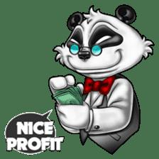 Introducing Boss Panda (Revised) sticker #11763790