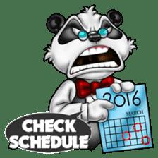 Introducing Boss Panda (Revised) sticker #11763792