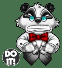Introducing Boss Panda (Revised) sticker #11763794