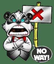 Introducing Boss Panda (Revised) sticker #11763797