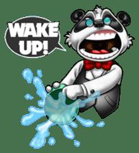 Introducing Boss Panda (Revised) sticker #11763798