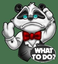 Introducing Boss Panda (Revised) sticker #11763799