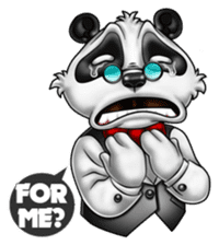 Introducing Boss Panda (Revised) sticker #11763801