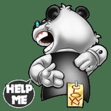 Introducing Boss Panda (Revised) sticker #11763803