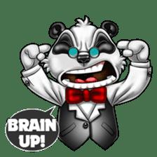 Introducing Boss Panda (Revised) sticker #11763806