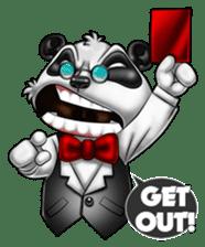 Introducing Boss Panda (Revised) sticker #11763811
