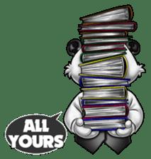 Introducing Boss Panda (Revised) sticker #11763812