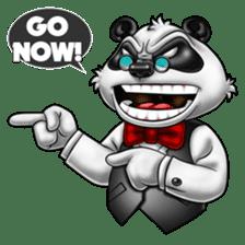 Introducing Boss Panda (Revised) sticker #11763814