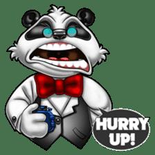 Introducing Boss Panda (Revised) sticker #11763818