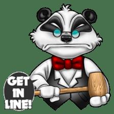 Introducing Boss Panda (Revised) sticker #11763819