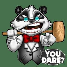Introducing Boss Panda (Revised) sticker #11763821