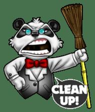 Introducing Boss Panda (Revised) sticker #11763822