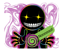 THE CHAOS BOY (English) sticker #11769198