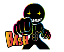 THE CHAOS BOY (English) sticker #11769202