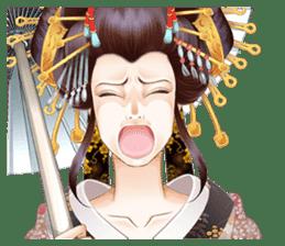 Absolute beauty geisha sticker #11779047