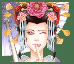 Absolute beauty geisha sticker #11779048