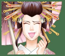 Absolute beauty geisha sticker #11779050