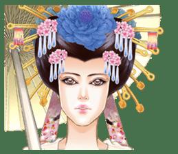 Absolute beauty geisha sticker #11779052