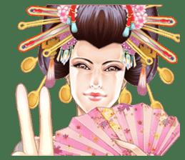 Absolute beauty geisha sticker #11779054