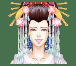 Absolute beauty geisha sticker #11779061