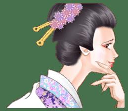 Absolute beauty geisha sticker #11779063