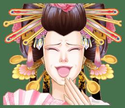 Absolute beauty geisha sticker #11779067
