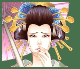 Absolute beauty geisha sticker #11779071