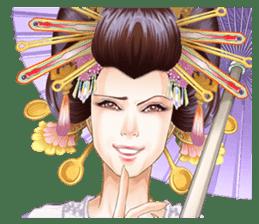 Absolute beauty geisha sticker #11779072