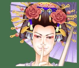 Absolute beauty geisha sticker #11779074