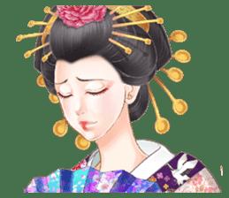 Absolute beauty geisha sticker #11779075