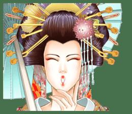 Absolute beauty geisha sticker #11779076