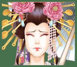 Absolute beauty geisha sticker #11779077