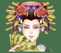 Absolute beauty geisha sticker #11779078