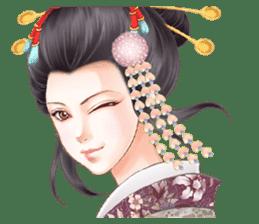 Absolute beauty geisha sticker #11779079