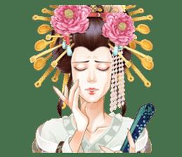 Absolute beauty geisha sticker #11779080