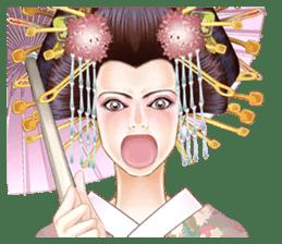 Absolute beauty geisha sticker #11779081