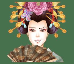Absolute beauty geisha sticker #11779082