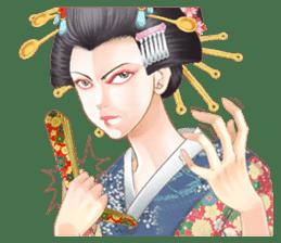 Absolute beauty geisha sticker #11779083