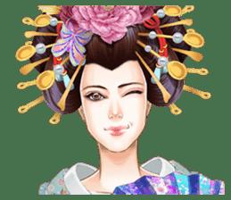 Absolute beauty geisha sticker #11779084
