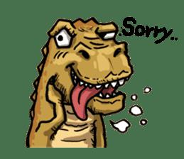 I'm T-Rex sticker #11788242