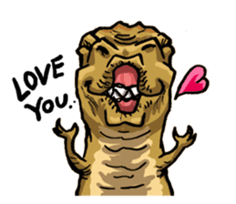 I'm T-Rex sticker #11788245