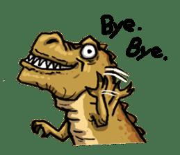 I'm T-Rex sticker #11788254