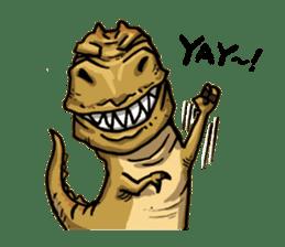 I'm T-Rex sticker #11788258