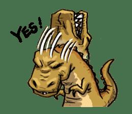 I'm T-Rex sticker #11788259