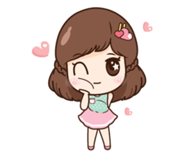 Mia in love + sticker #11790387