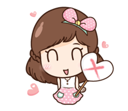 Mia in love + sticker #11790392
