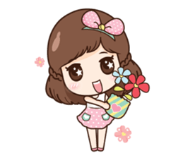 Mia in love + sticker #11790397