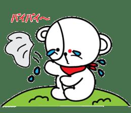 Redeye Kuma sticker #11798976