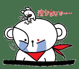 Redeye Kuma sticker #11798998